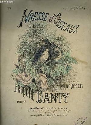 IVRESSE D'OISEAUX: DANTY Léopold / BOSCH Maurice