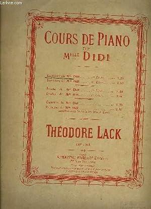 COURS DE PIANO DE MELLE DIDI: LACK Théodore