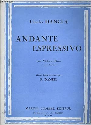 ANDANTE ESPRESSIVO: DANCLA Charles