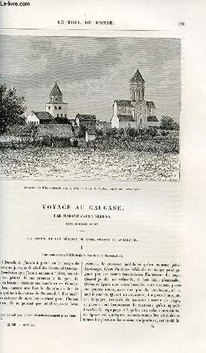 Le tour du monde - nouveau journal des voyages - livraisons n°1224 et 1225 - Voyage au Caucase ...