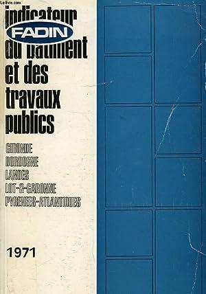 INDICATEUR DU BATIMENT ET DES TRAVAUX PUBLICS: COLLECTIF
