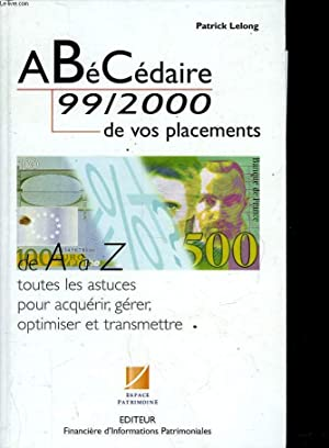 A Bé CEDAIRE 99/2000 DE VOS PLACEMENTS: COLLECTIF