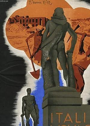 ITALIE-VOYAGES, 2e ANNEE, N° 12, OCT. 1934, REVUE TOURISTIQUE DE L'ENIT ET DES CHEMINS DE ...