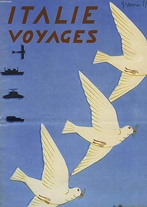 ITALIE-VOYAGES, 3e ANNEE, N° 6, AVRIL 1935, REVUE TOURISTIQUE DE L'ENIT ET DES CHEMINS DE FER ...