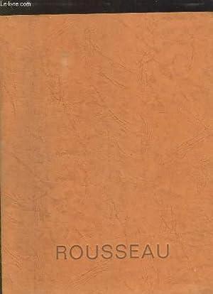CATALOGUE ROUSSEAU. ROBINETTERIE DE BATIMENT. ARROSAGE. ROBINETTERIE SANITAIRE. RACCORDS POUR TUBES...