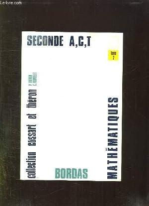 COLLECTION DE MATHEMATIQUES. CLASSE DE 2 A,: COSSART E THERON