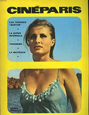 CINEPARIS N°4, NOVEMBRE 1968. SUEDE : ENFER: COLLECTIF