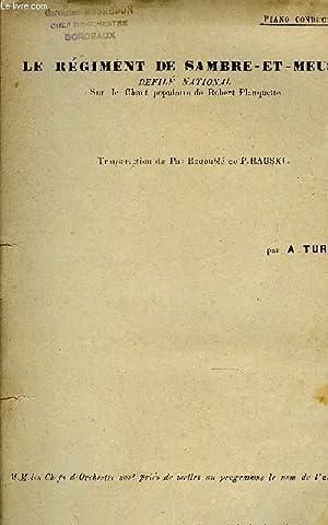 LE REGIMENT DE SAMBRE-ET-MEUSE: TURLET A.