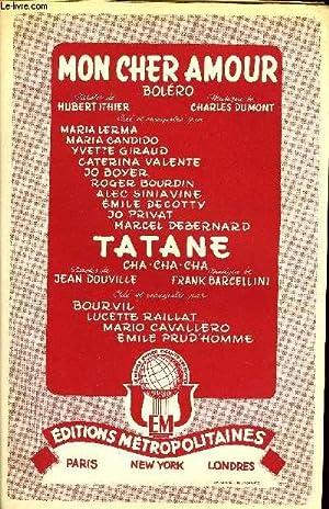 MON CHER AMOUR / TATANE: DUMONT C. / ITHIER H. / BARCELLINI F. / DOUVILLE