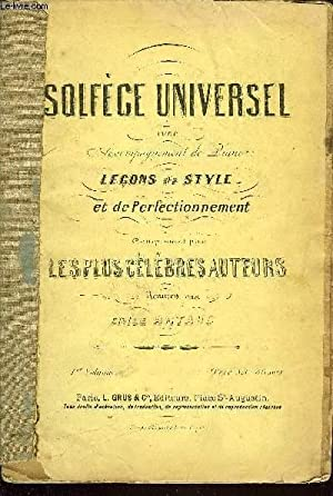 SOLFEGE UNIVERSEL: COLLECTIF