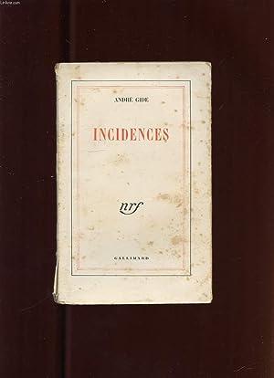 INCIDENCES: GIDE ANDRE