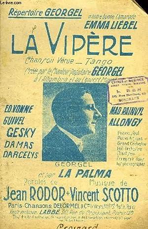 LA VIPERE: SCOTTO Vincent /