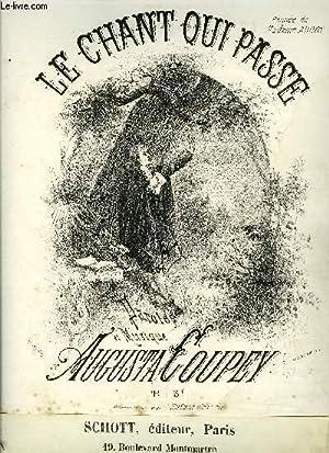 LE CHANT QUI PASSE: COUPEY Augusta
