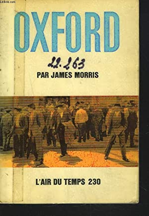 OXFORD: JAMES MORRIS, ROGER