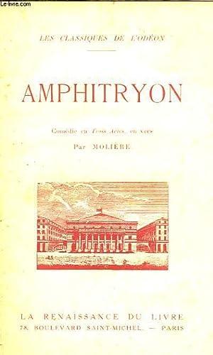 AMPHITRYON, COMEDIE EN 3 ACTES: MOLIERE