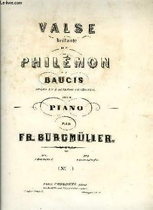 VALSE DE PHILEMON ET BAUCIS: BURGMULLER Fred.