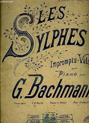 LES SYLPHES: BACHMANN G.
