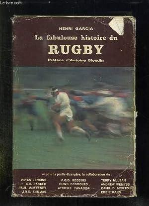 LA FABULEUSE HISTOIRE DU RUGBY.: GARCIA HENRI.