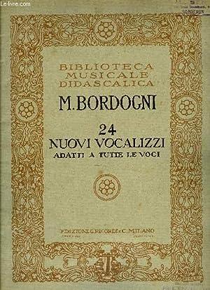 24 NUOVI VOCALIZZI: BORDOGNI M.