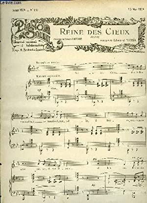 PIANO SOLEIL 15 MAI 1904, N°20: COLLECTIF