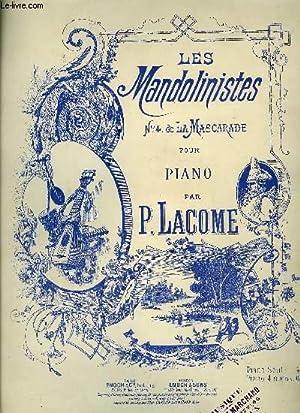 LES MANDOLINISTES: LACOME P.