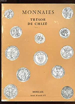 MONNAIES. TRESOR DE CHIZE. MORLAIX LUNDI 28: COLLECTIF