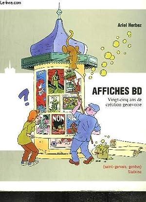 Affiches BD. 25 ans de création genevoise.: HERBEZ Ariel