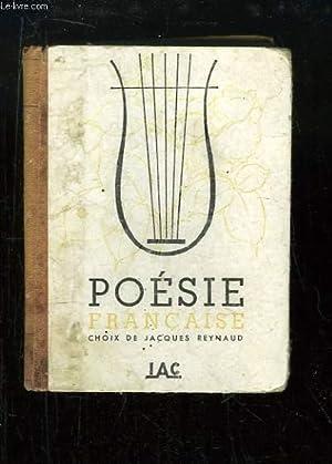 Poésie Française.: REYNAUD Jacques