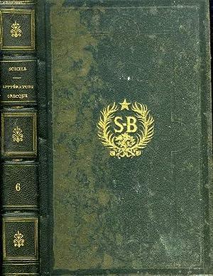 HISTOIRE DE LA LITTERATURE GRECQUE PROFANE, DEPUIS: SCHOELL M.