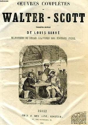 OEUVRES COMPLETES DE WALTER-SCOTT, TRADUCTION NOUVELLE, TOME III: SCOTT WALTER, Par L. BARRE