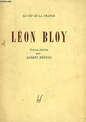 LEON BLOY: BLOY LEON, Par A. BEGUIN