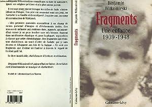 FRAGMENTS - UNE ENFANCE 1939-1948: WILKOMIRSKI BINJAMIN