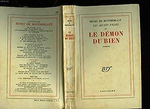 LES JEUNES FILLES - III - LE: MONTHERLANT HENRY DE