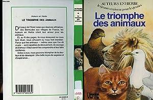 LE TRIOMPHE DES ANIMAUX: AUTEURS EN HERBE