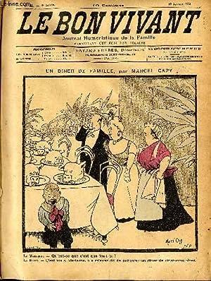 Le bon vivant n°62 - Un diner: MARCEL CAPY