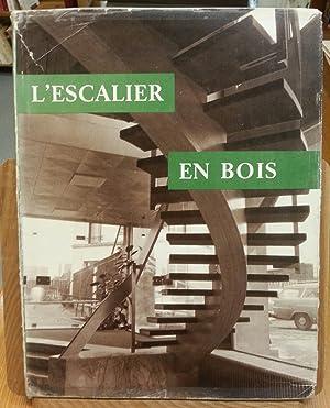 L'escalier en bois.: Jean Martin