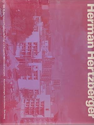 Herman Hertzberger 1959-86 Bâtiments et projets.: Arnulf Lüchinger