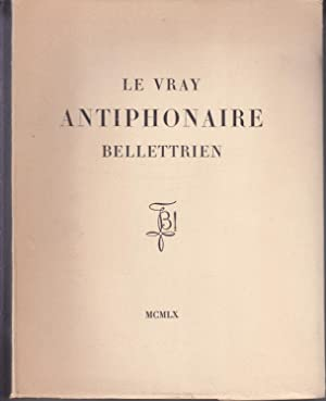 Le vray antiphonaire Bellettrien
