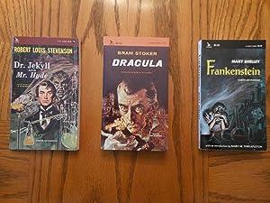 Monsters - Three Book Lot: Dr. Jekyll: Robert Louis Stevenson,