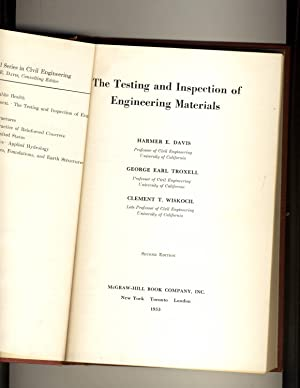 The Testing and Inspection of Engineering Materials