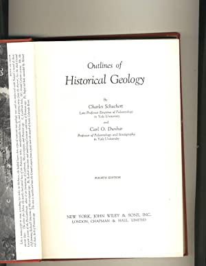 Outlines of Historical Geology: Charles Schuchert and