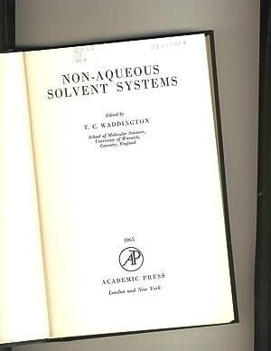 non aqueous solvents in inorganic chemistry pdf