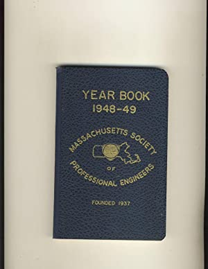 Year Book 1948-49 Massachusetts Society of Professional Engineers