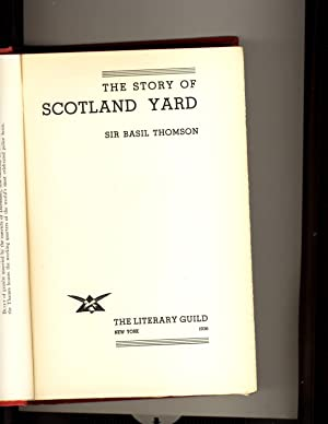 The Story of Sctland Yard 1936 Edition: Sir Basil Thomson