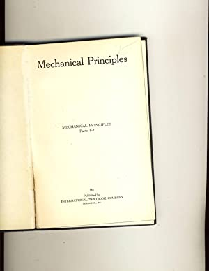 Mechanical Principles 348: International Textbook Company