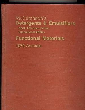 McCutcheon's Detergents & Emulsifiers 1979 Annuals Combined: McCutcheon's