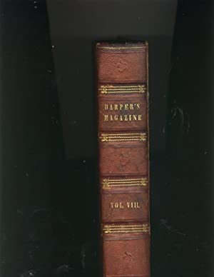 Harper's New Monthly Magazine Volume 8 December, 1853, to May, 1854: Harper's Magazine