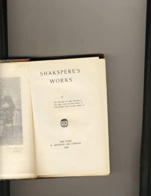 Shakespeare Works Volume 5
