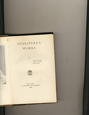Shakespeare Works Volume 9