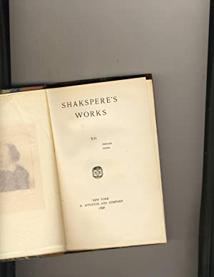 Shakespeare Works Volume 12